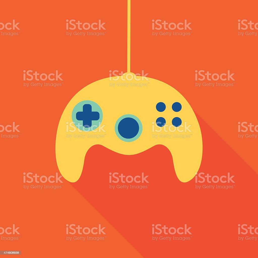 Video Game Controller 6 vector art illustration
