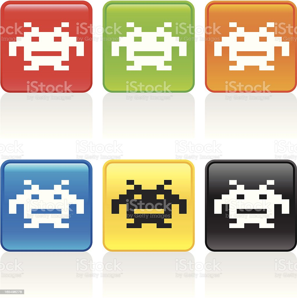Video Game Icon royalty-free stock vector art