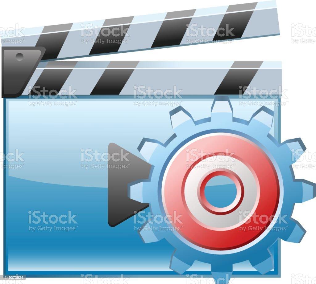 Video Setting royalty-free stock vector art