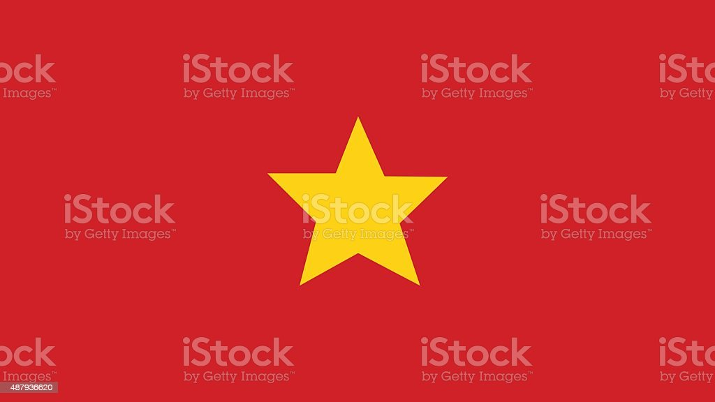 vietnam Flag for Independence Day and infographic Vector illustr vector art illustration