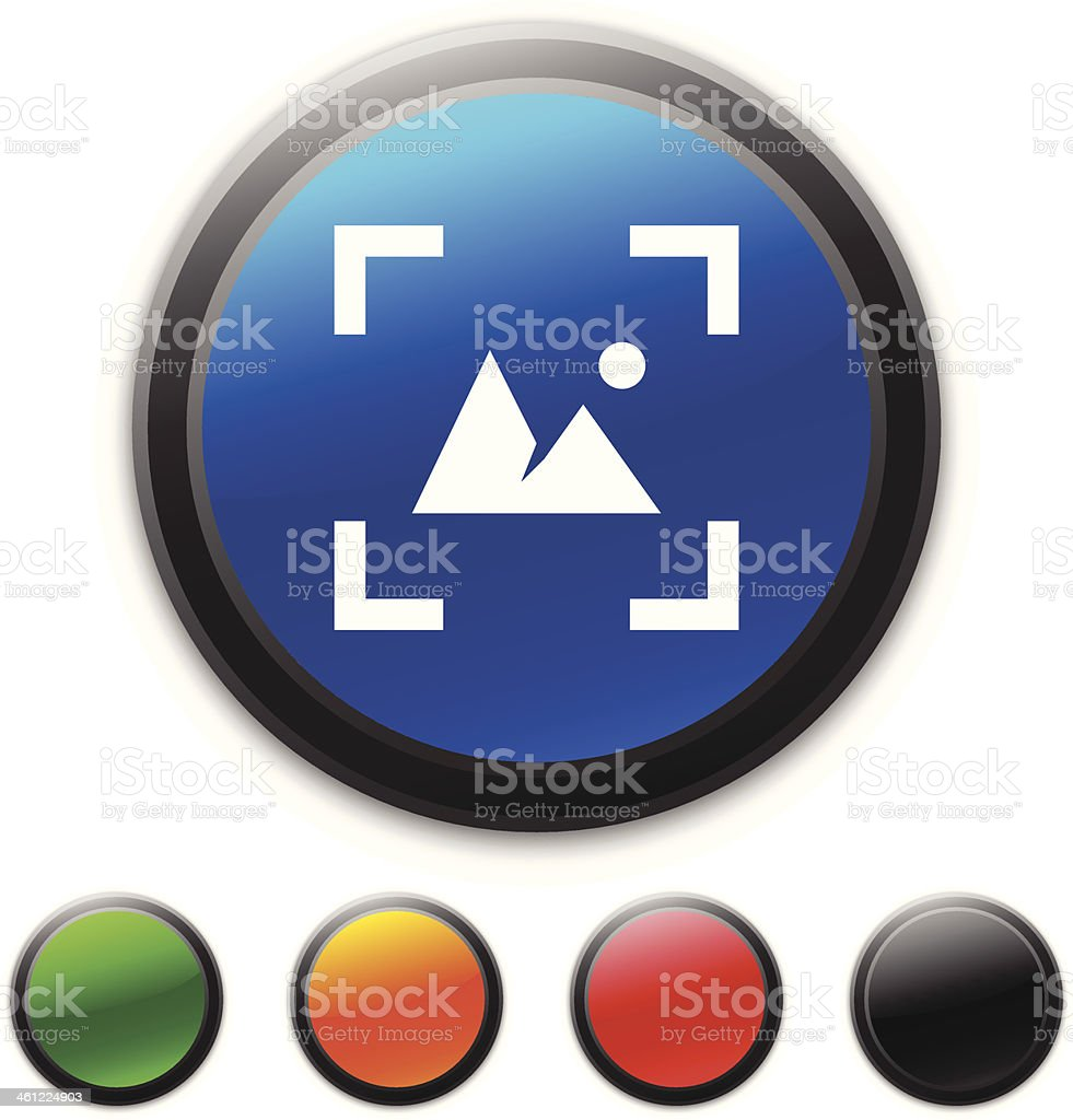 Viewfinder icon royalty-free stock vector art