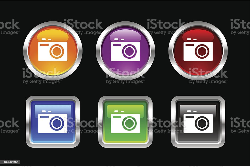 'Vii' Icon Series | Camera royalty-free stock vector art