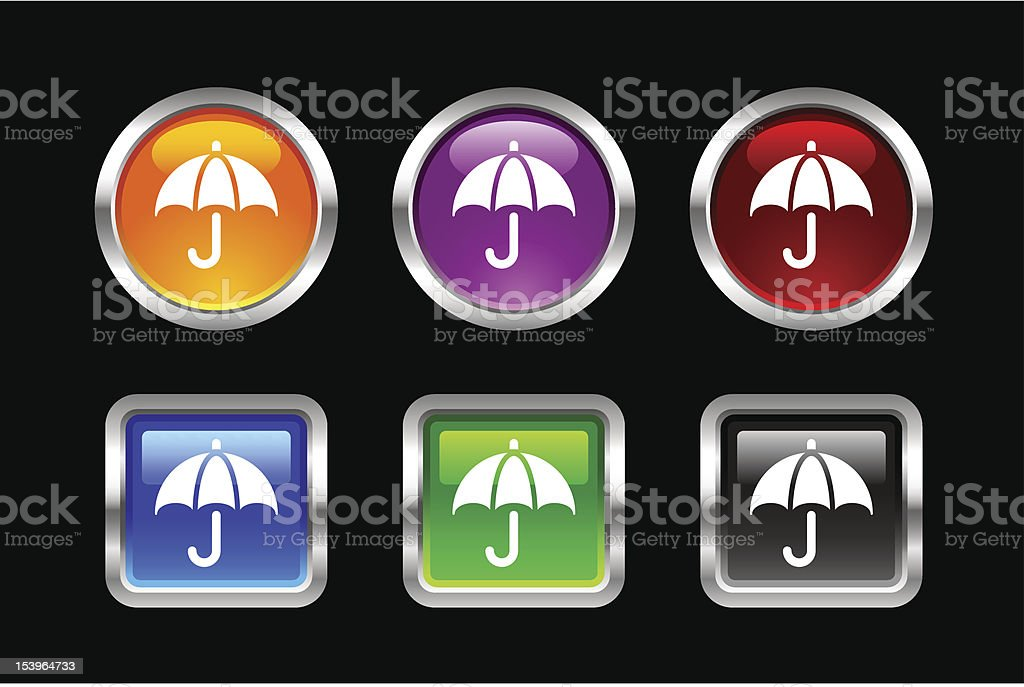 'Vii' Icon Series | Financial Protection royalty-free stock vector art