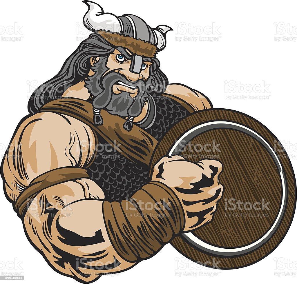 Vikingstance2 royalty-free stock vector art