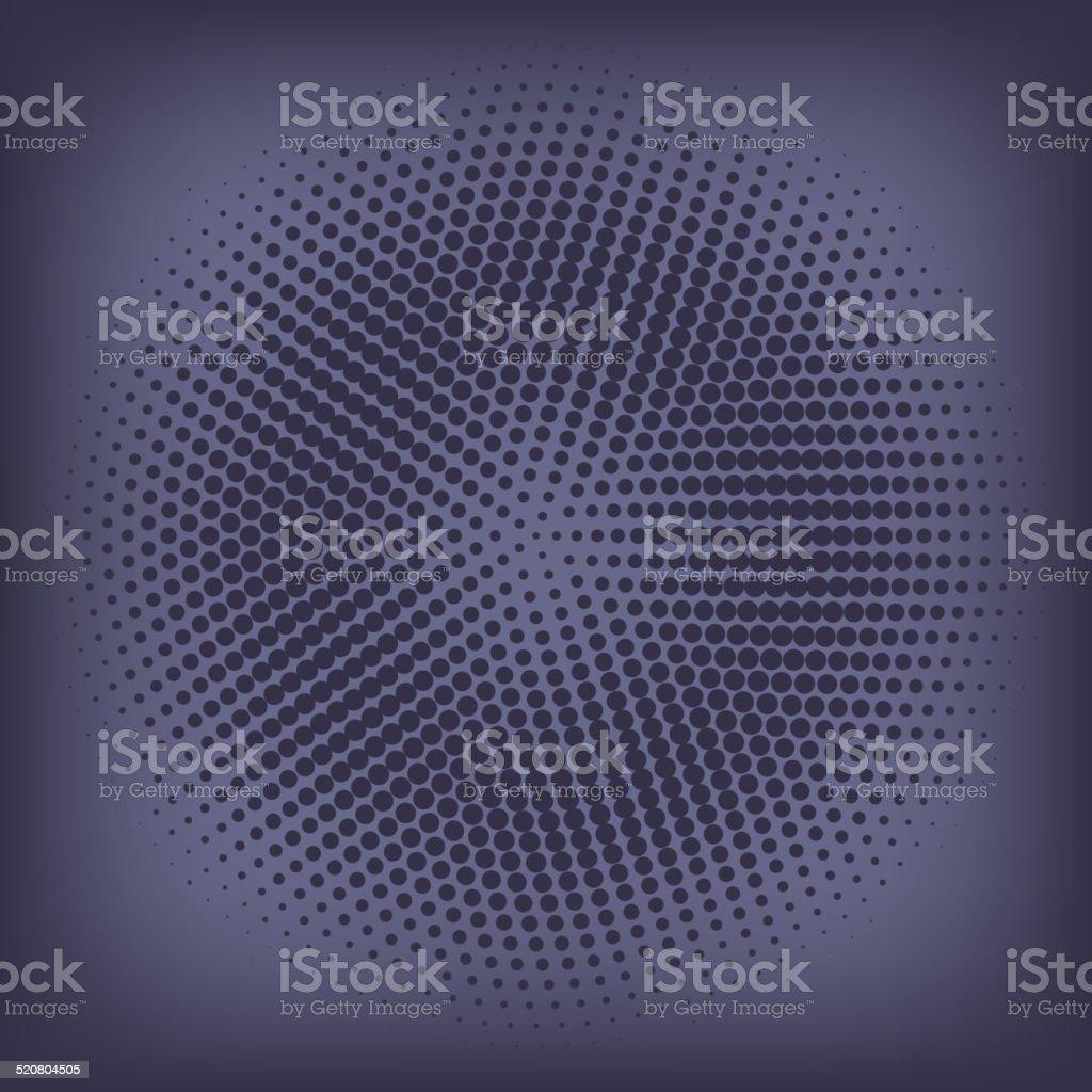 Vintage Abstract Background. dark circle of halftone. 10 eps vector art illustration
