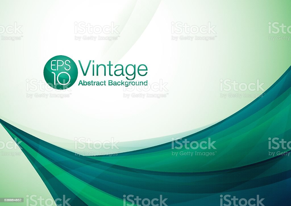 Vintage abstract background vector art illustration
