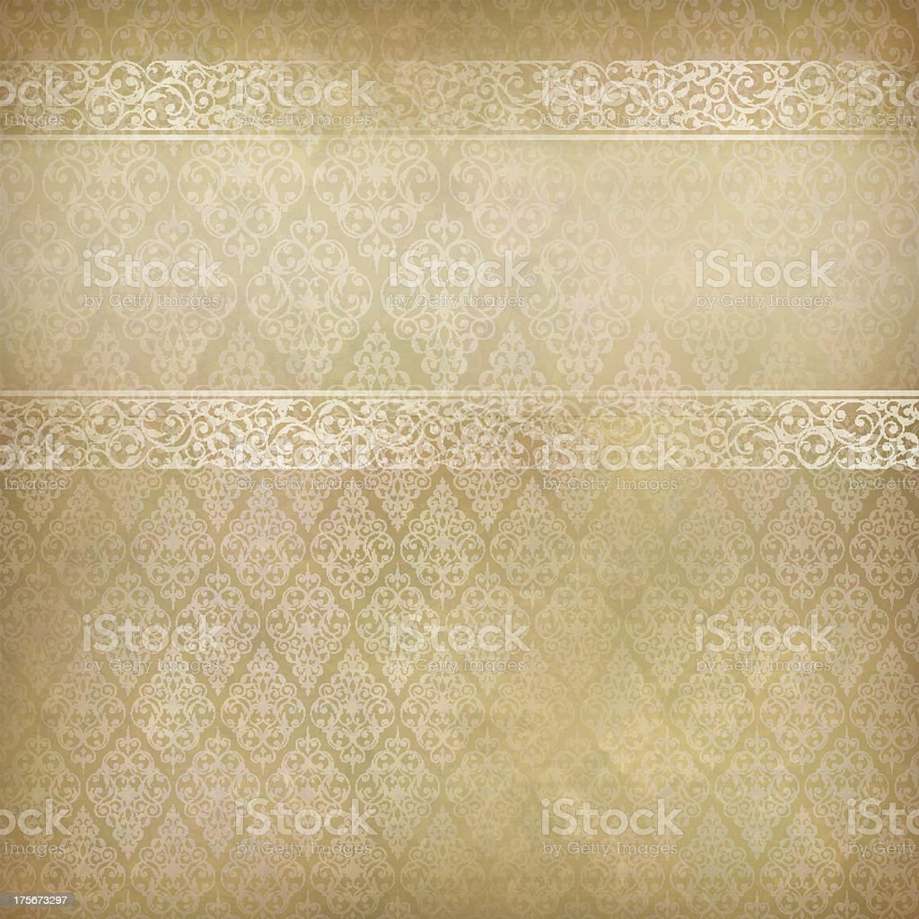 Vintage Abstract Retro Lace Banner Background royalty-free stock vector art