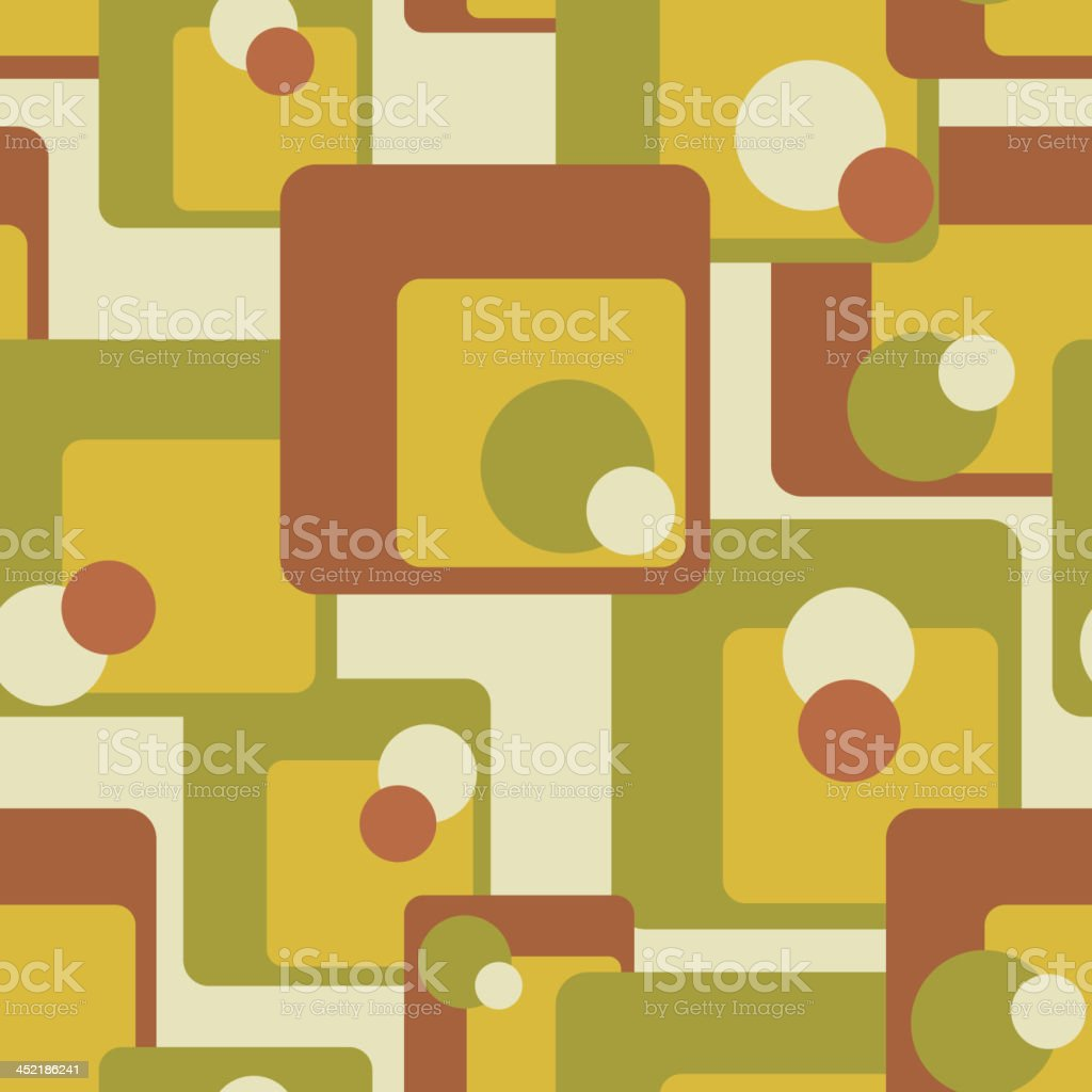 Vintage abstract seamless pattern royalty-free stock vector art