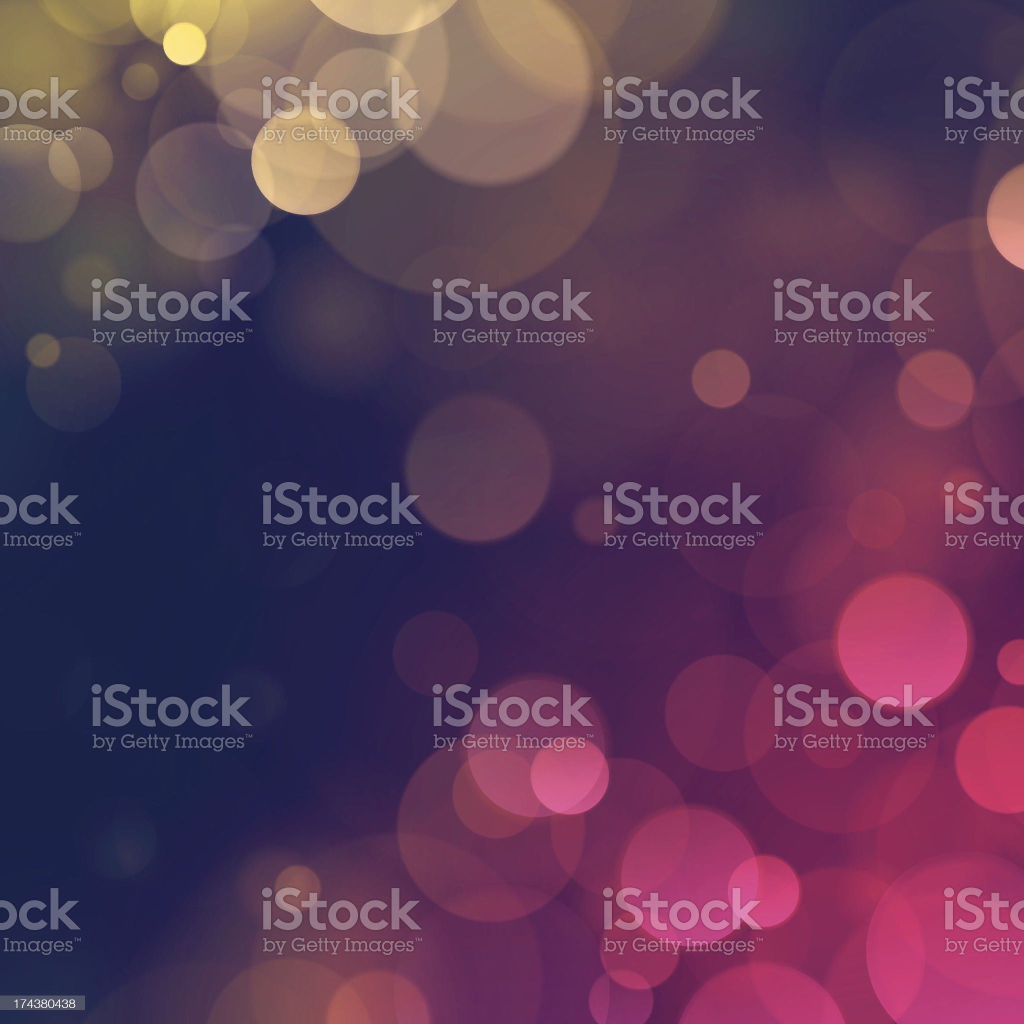 Vintage Autumn Fall Bokeh Defocus Blurry Lights Background royalty-free stock vector art