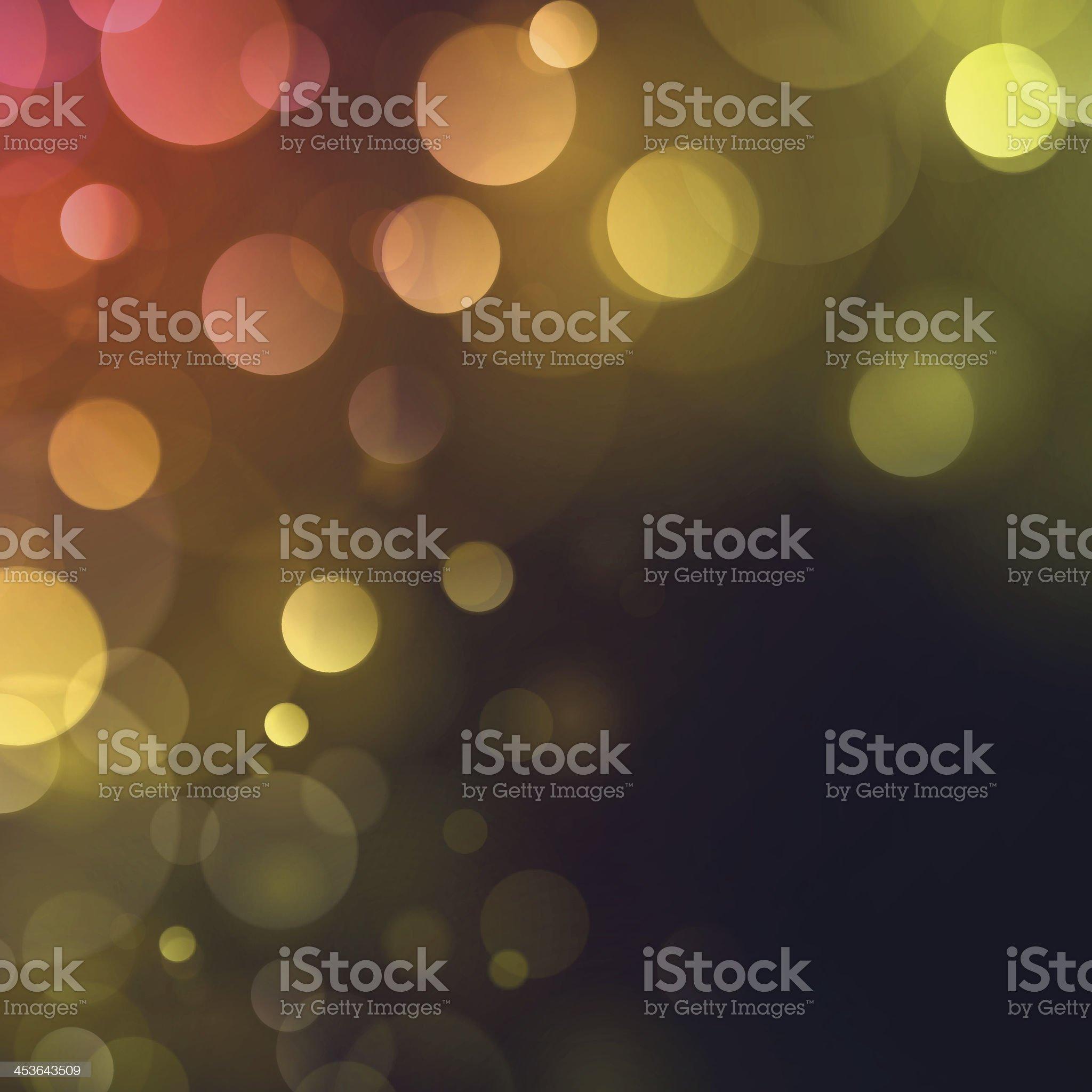 Vintage Autumn Fall Bokeh Defocus Blurry Lights Background royalty-free stock vector art