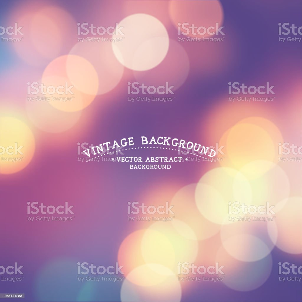 Vintage Background vector art illustration