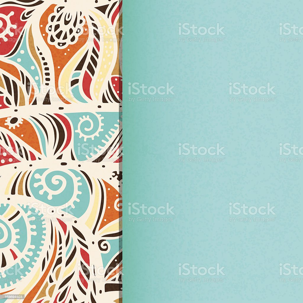 Vintage background with space for text royalty-free stock vector art