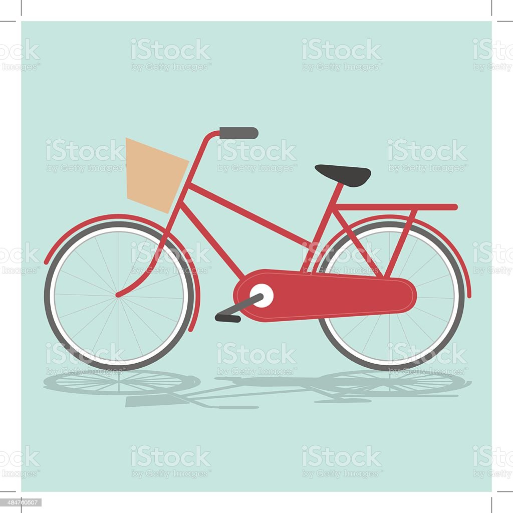 Vintage Bicycle royalty-free stock vector art