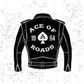 vintage biker logo