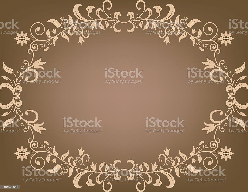vintage border ornament royalty-free stock vector art