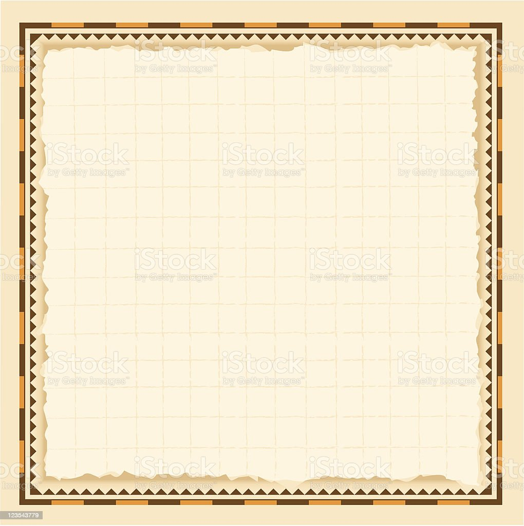 Vintage Border royalty-free stock vector art