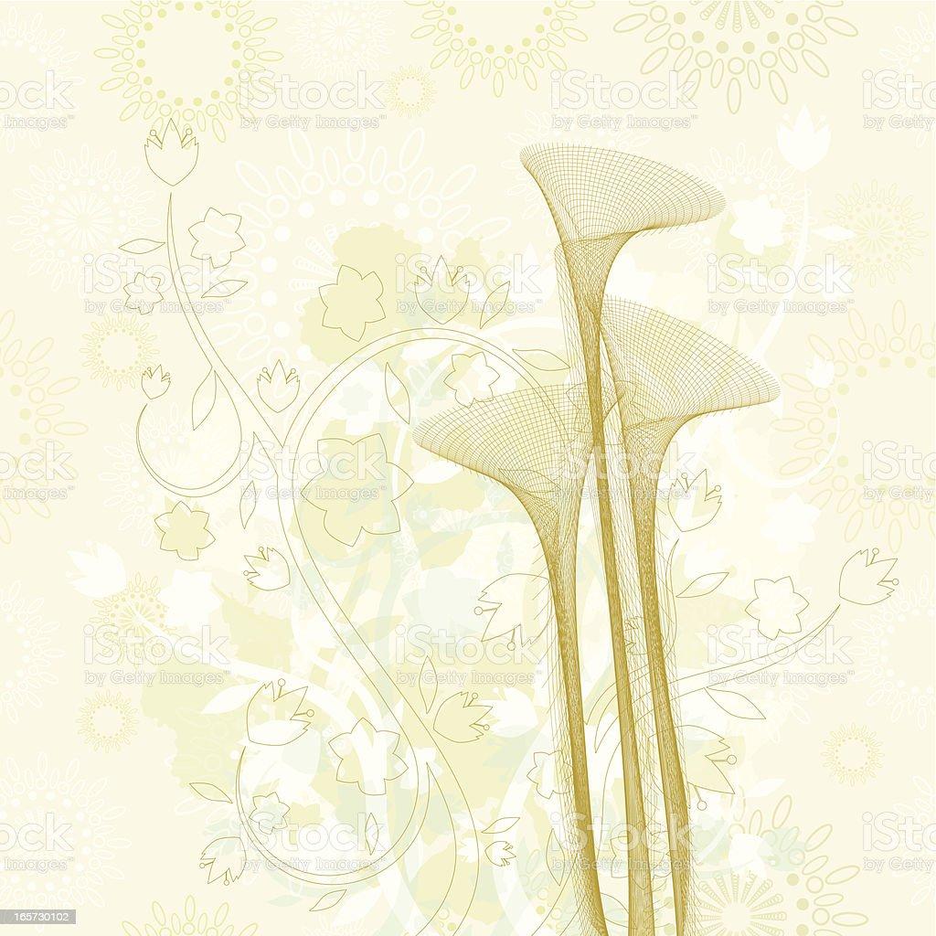 Vintage bouquet royalty-free stock vector art