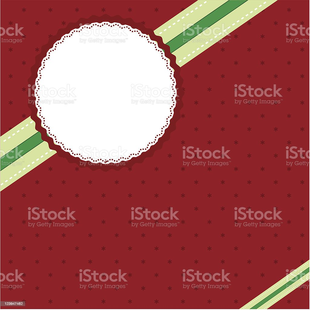 Vintage Christmas background royalty-free stock vector art