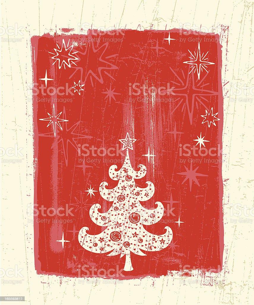 Vintage Christmas royalty-free stock vector art