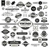 Vintage Commerce Labels - Complete Set