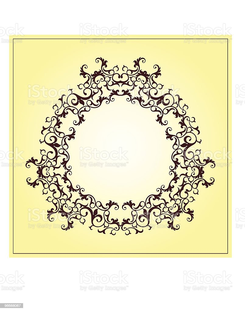 Vintage Design vector art illustration