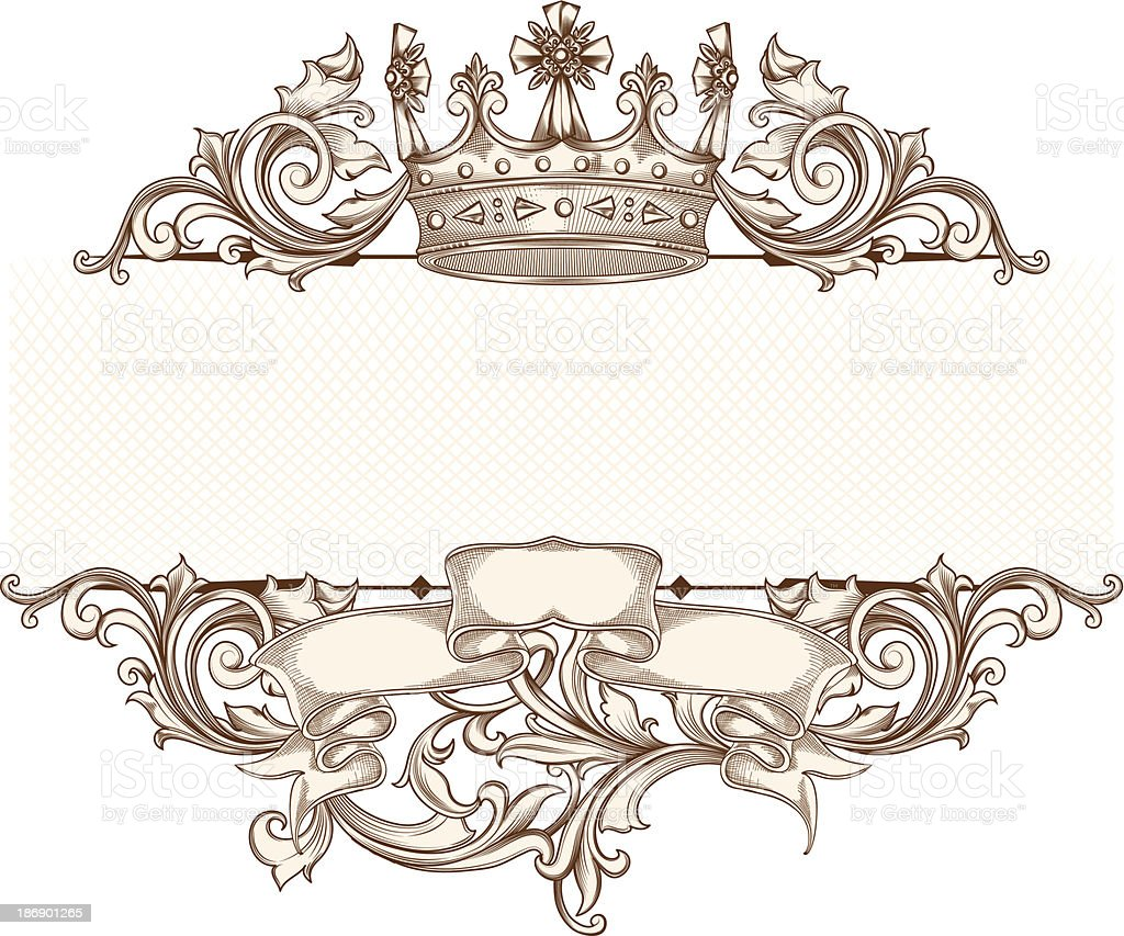 Vintage emblem royalty-free stock vector art