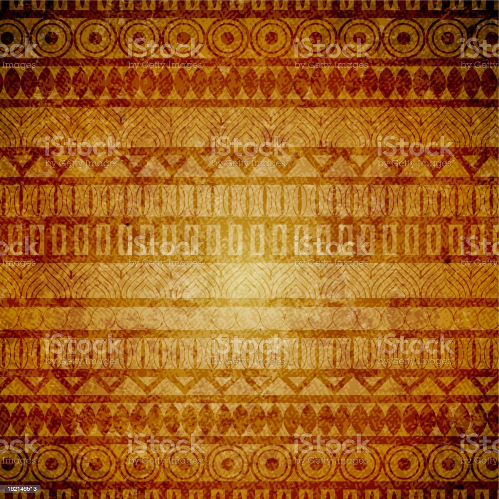 Vintage ethnic background royalty-free stock vector art