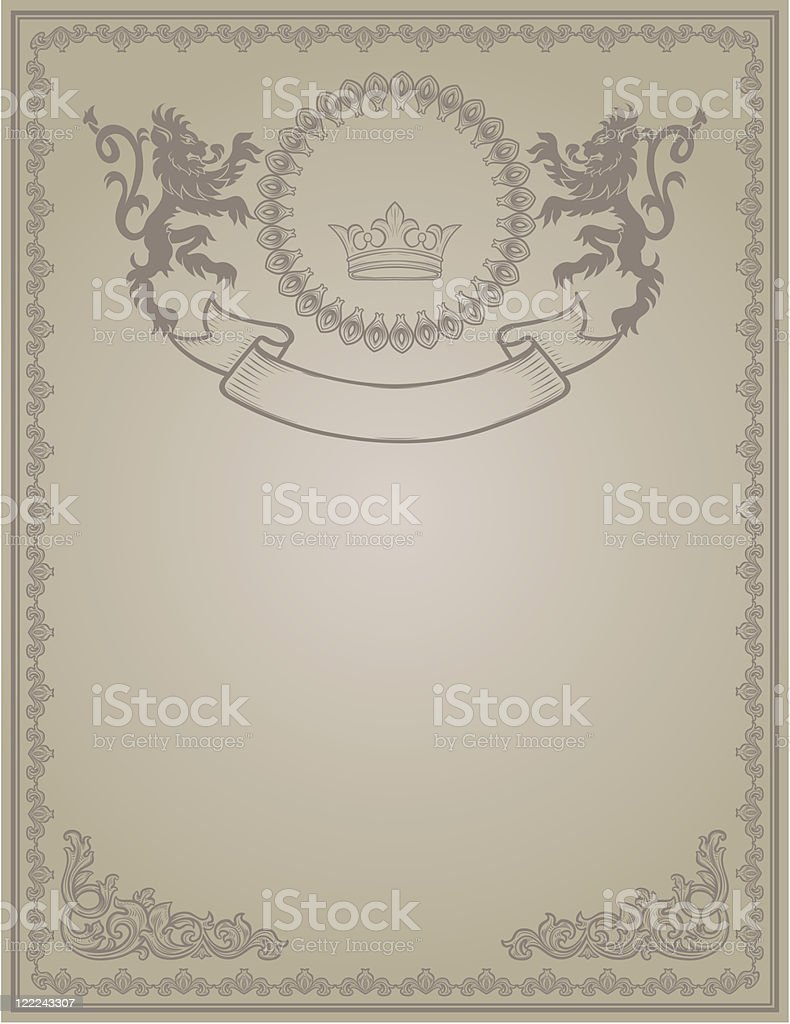 vintage form royalty-free stock vector art