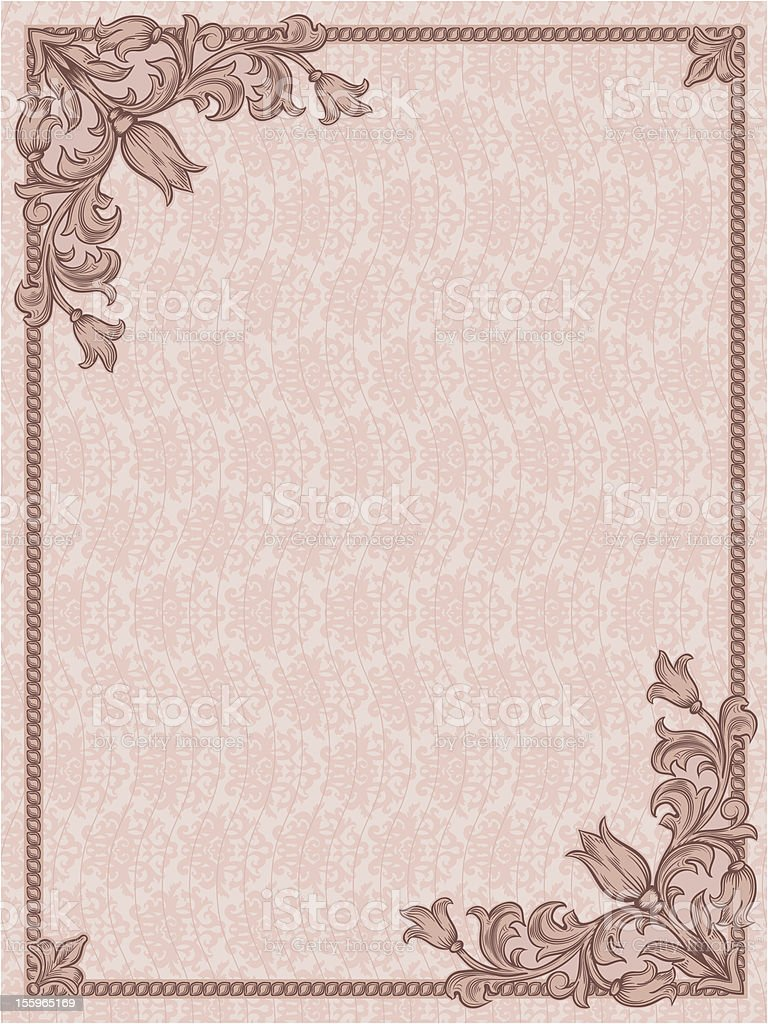 vintage frame royalty-free stock vector art