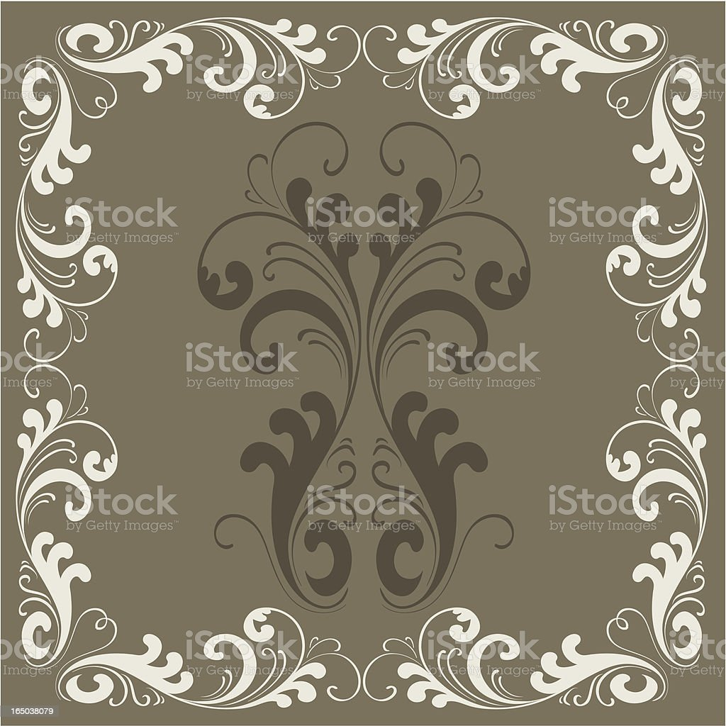 Vintage frame #360, VECTOR royalty-free stock vector art