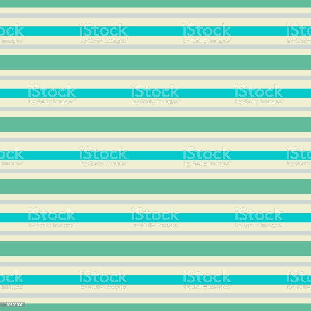 Vintage horizontal stripe vector seamless pattern (tiling) royalty-free stock vector art