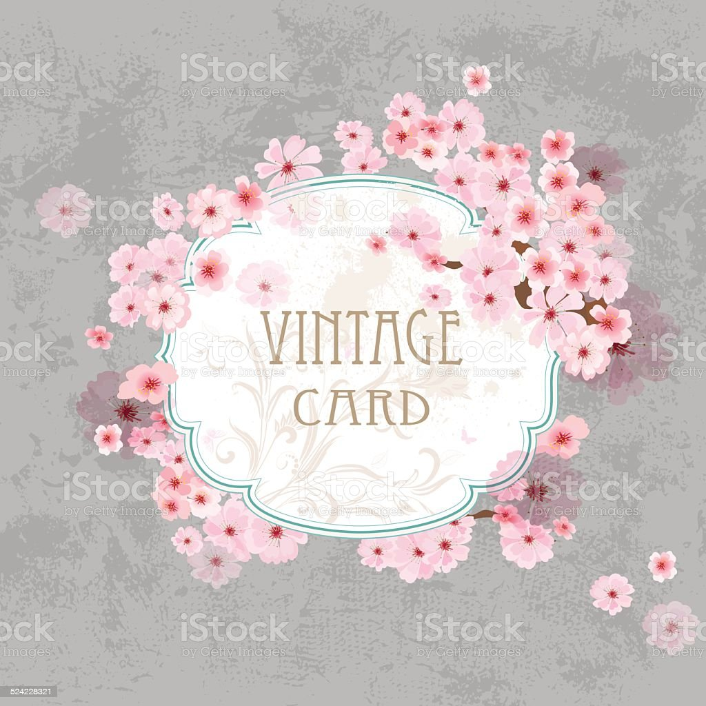 Vintage label for your design vector art illustration