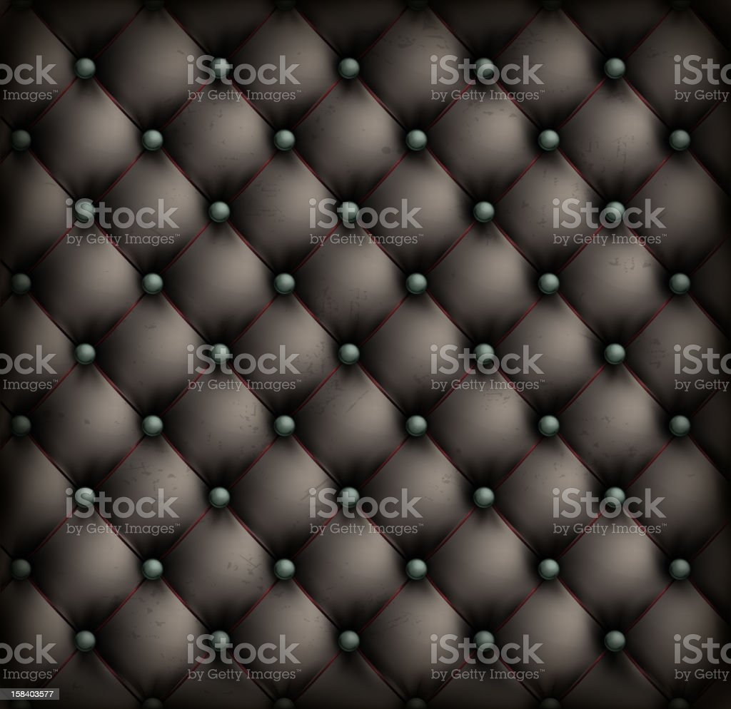 Vintage leather upholstery background royalty-free stock vector art