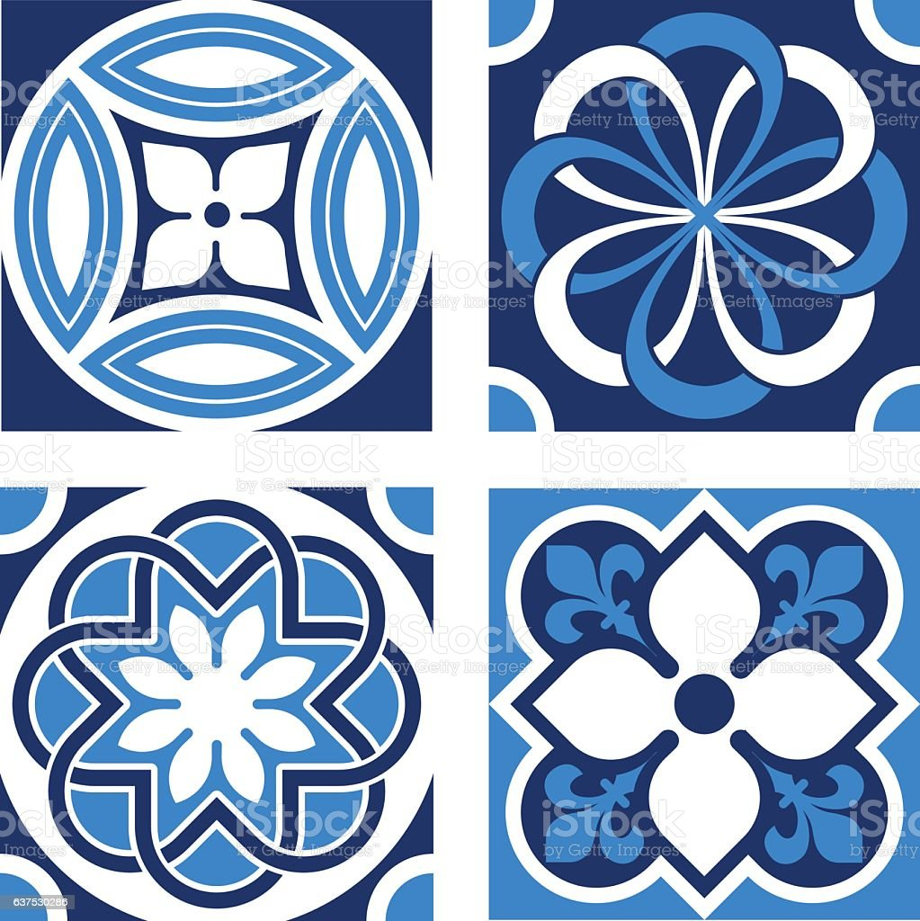Vintage Ornamental Patterns vector art illustration