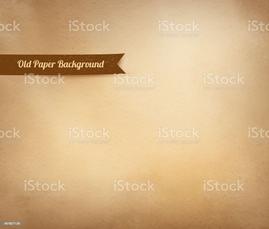 Vintage paper background. vector art illustration