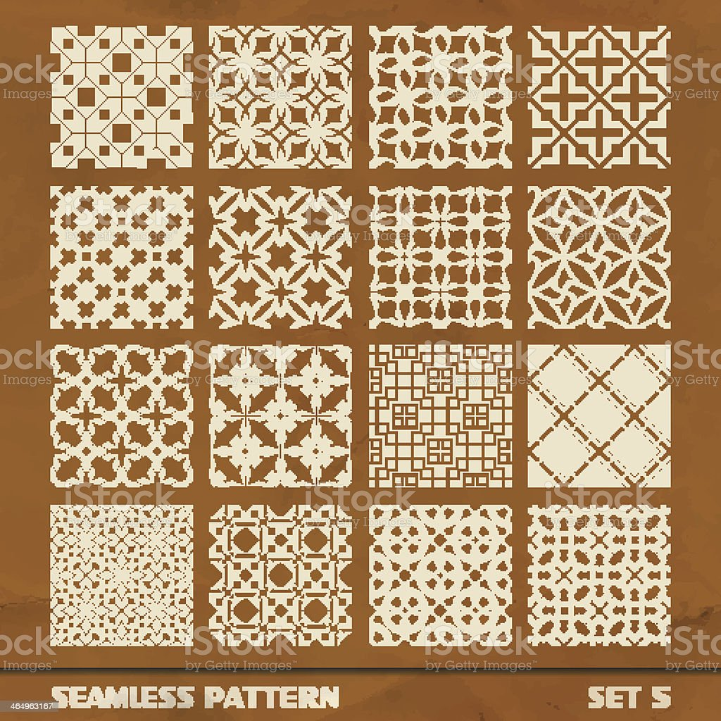 SEAMLESS vintage pattern. royalty-free stock vector art