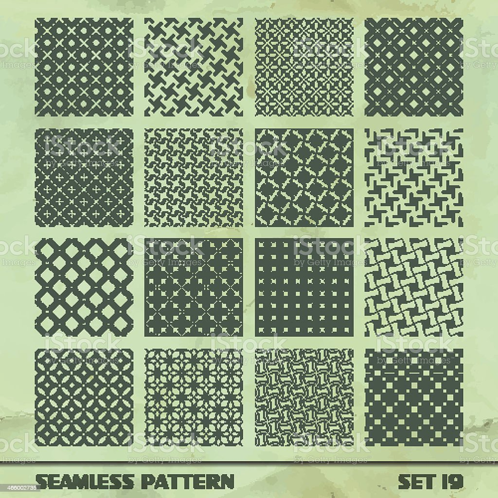 SEAMLESS vintage pattern. royalty-free stock vector art