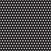 Vintage Polka Dot Seamless Pattern