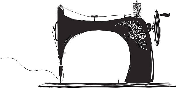 Sewing Machine Clip Art, Vector Images & Illustrations ...