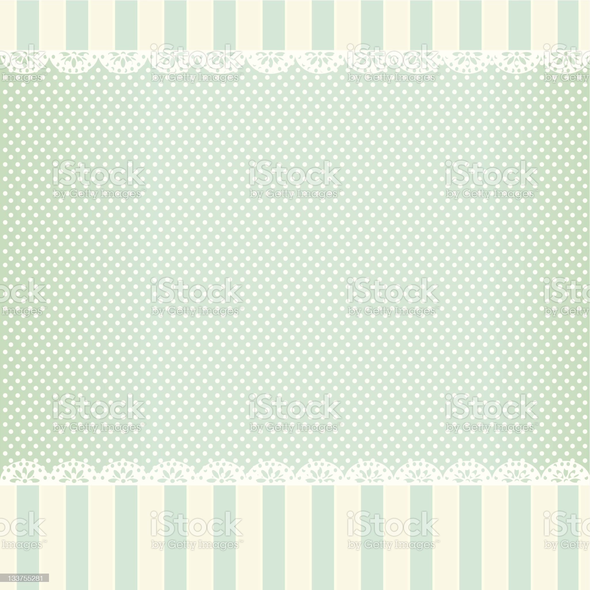 A vintage shabby chic styled background royalty-free stock vector art