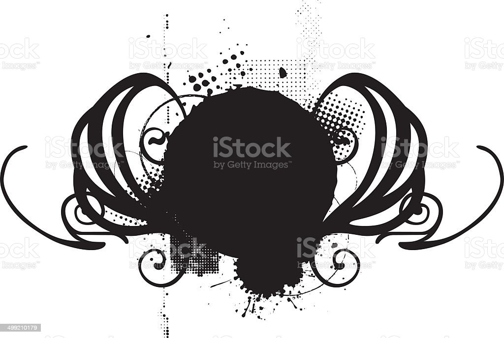 vintage shield royalty-free stock vector art