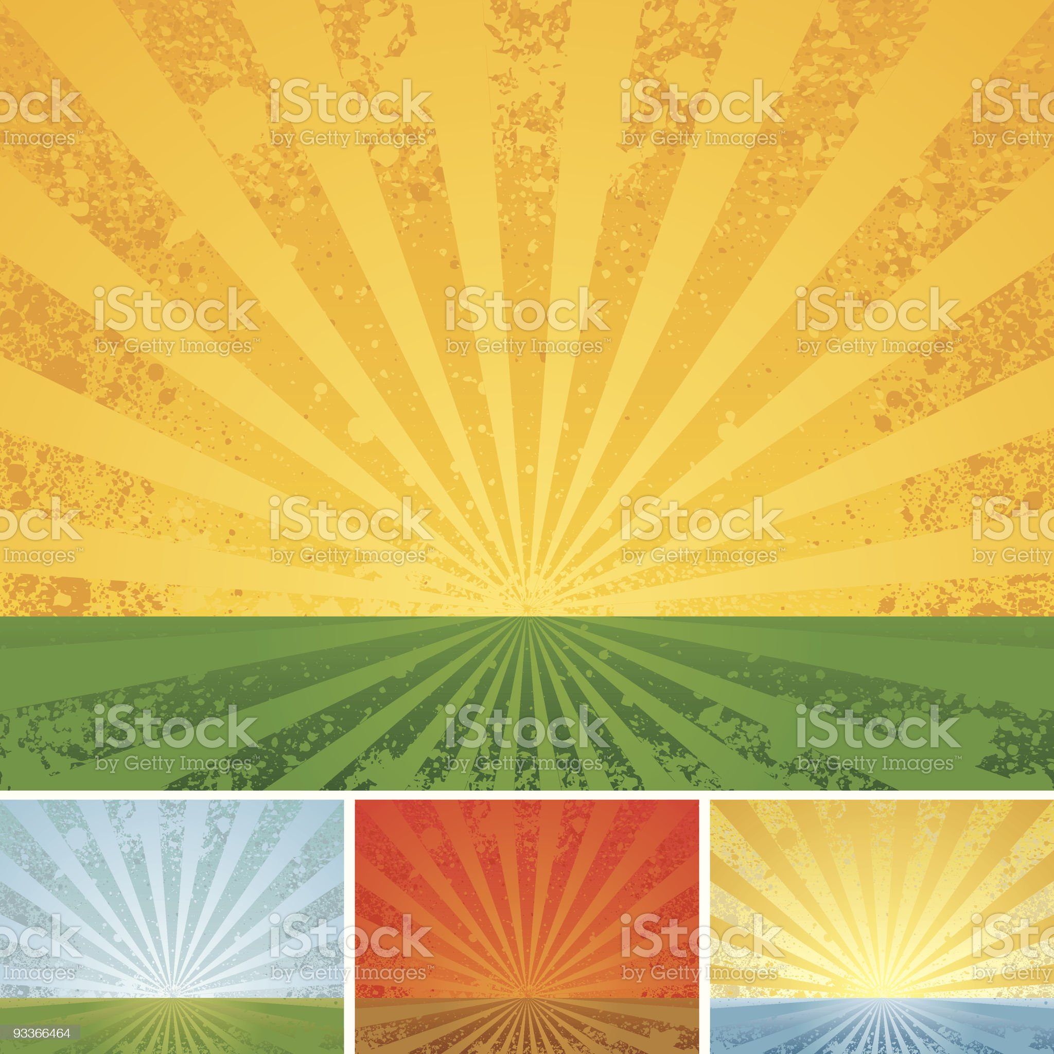 Vintage shining royalty-free stock vector art