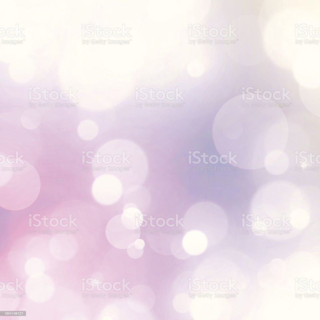 Vintage Soft Pastel Dreamy Fairy Lights Blurry Vector Background royalty-free stock vector art