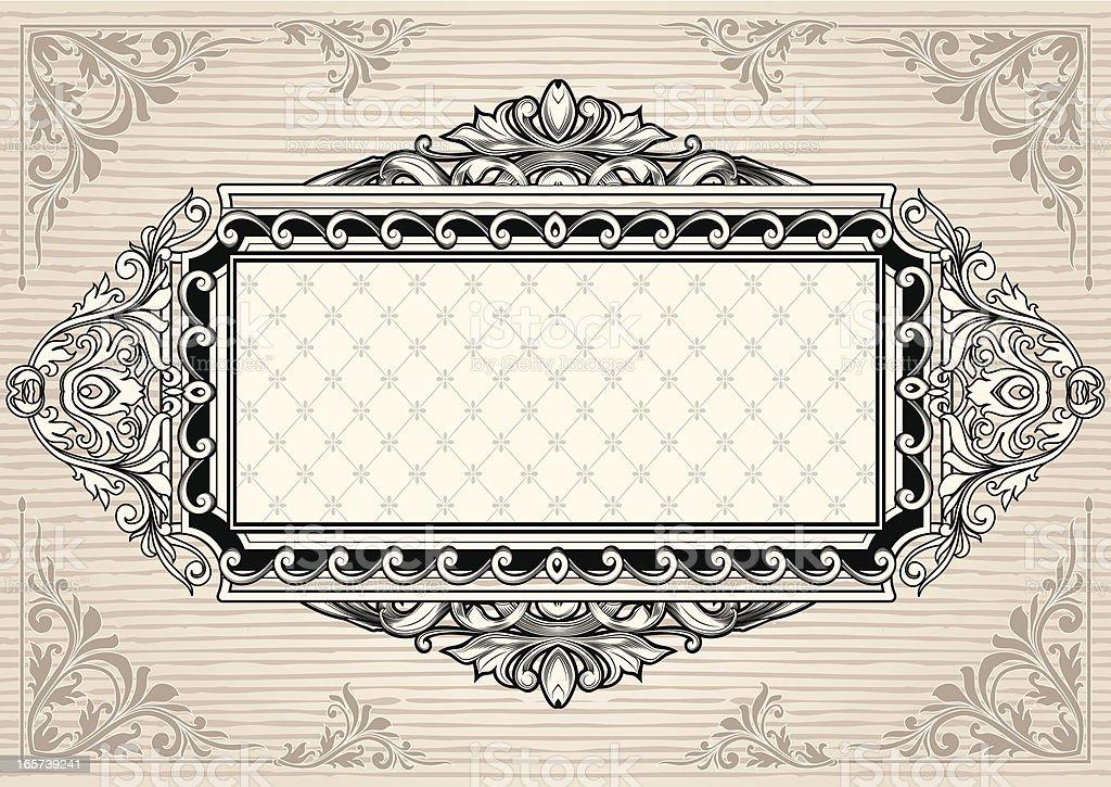 Vintage tag royalty-free stock vector art
