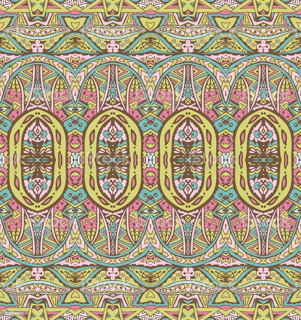 vintage tiles modern pattern vector art illustration