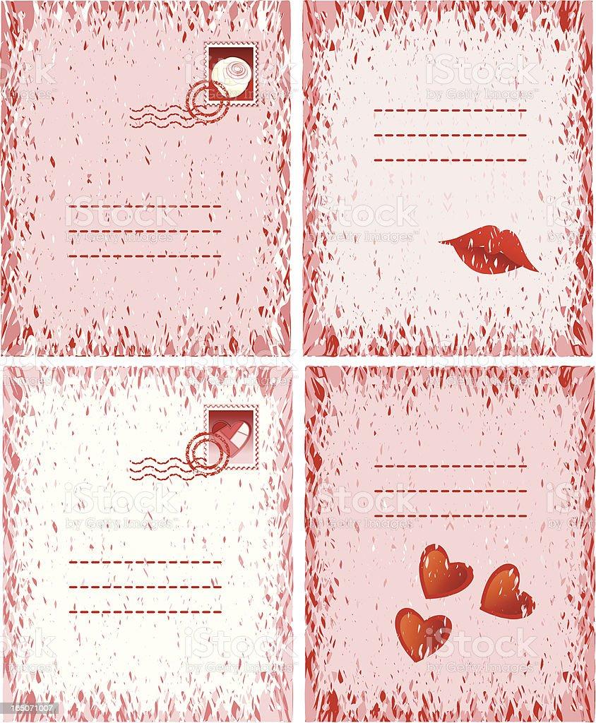 Vintage Valentine royalty-free stock vector art