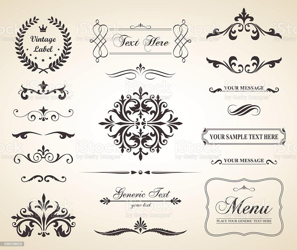 Bilderrahmen verzieren ornamente  Ornament Vektorgrafiken und Illustrationen - iStock