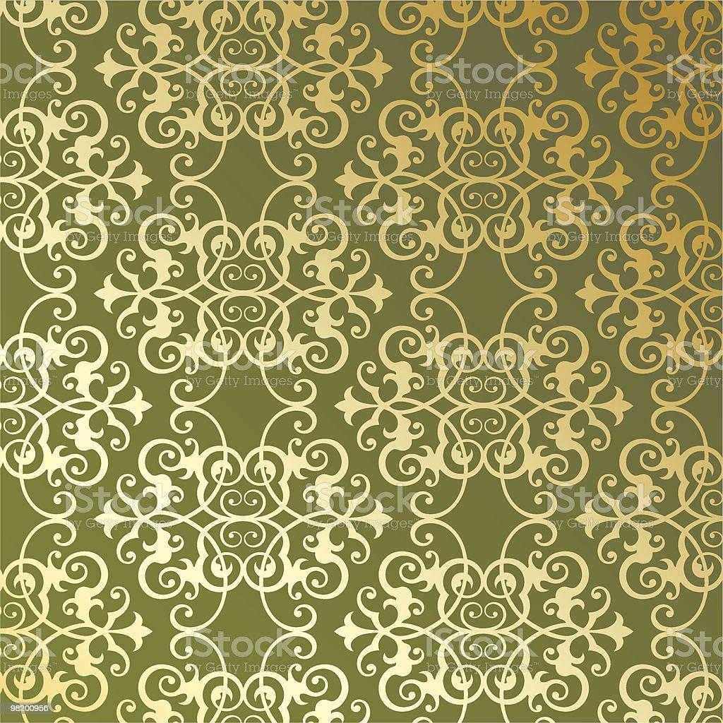Vintage vector seamless pattern royalty-free stock vector art