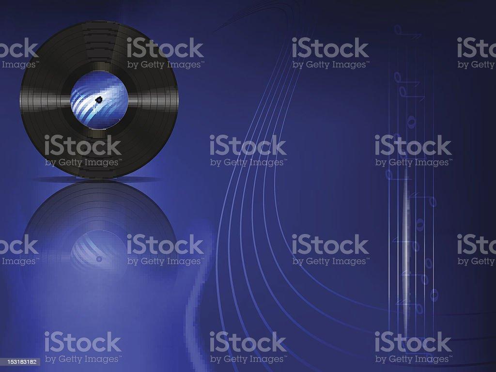 vinyl record royalty-free stock vector art