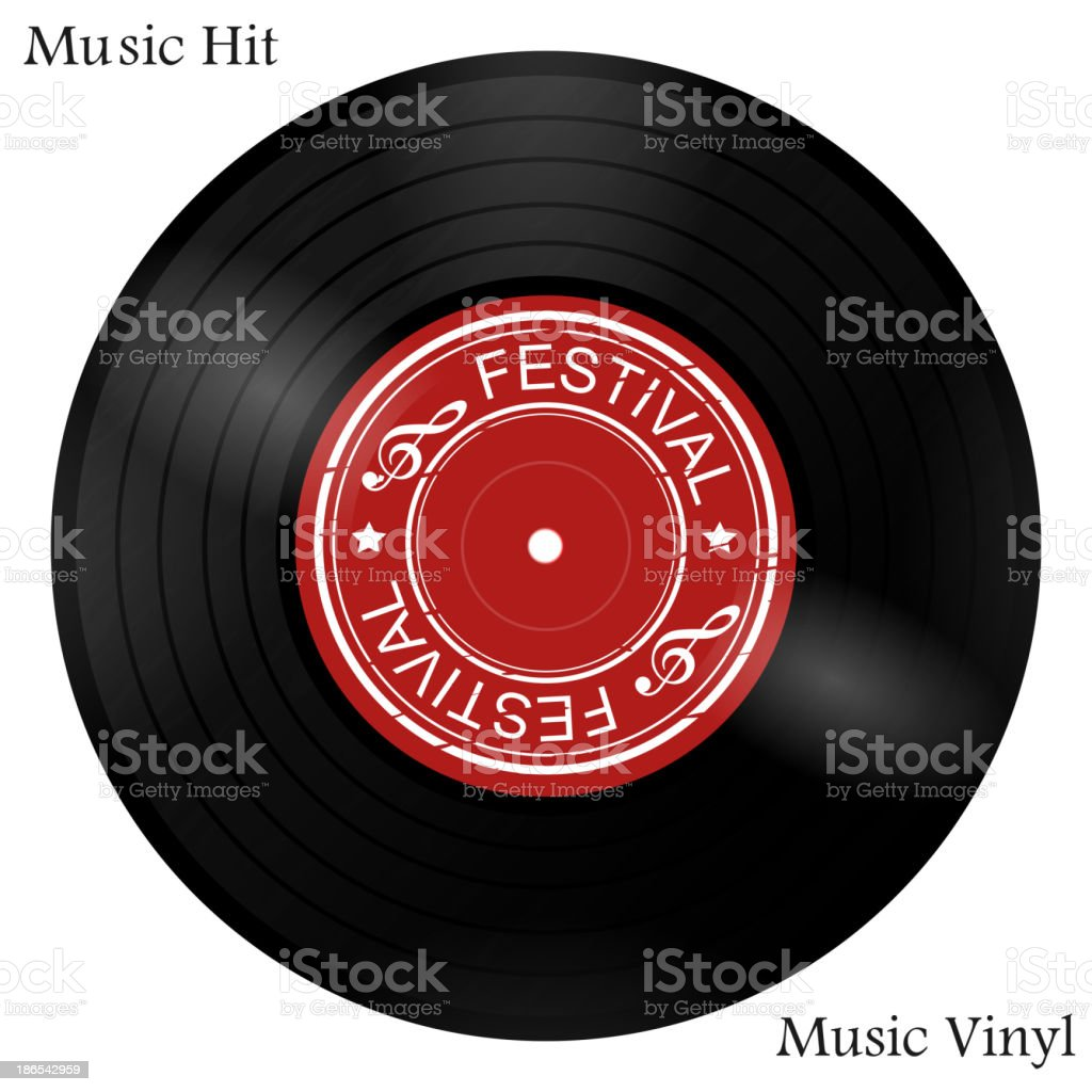 vinyl vector art illustration
